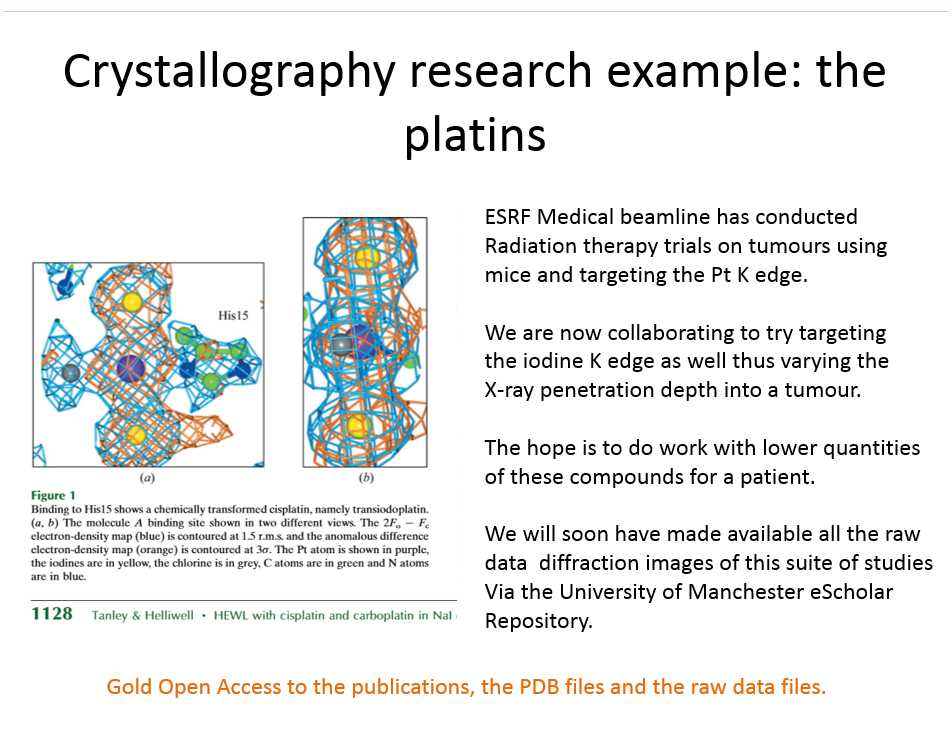 [crystallography research example]