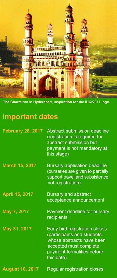 [Important dates]