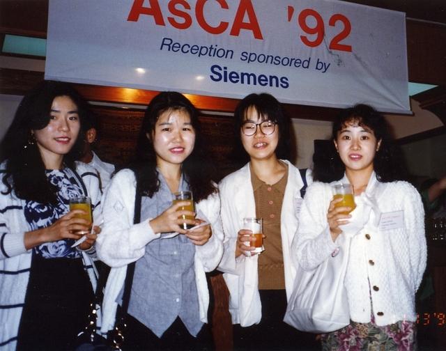 [1992: AsCA Meeting: Participants]