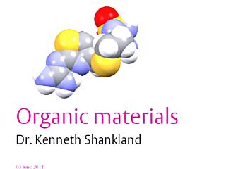 [Organic materials]