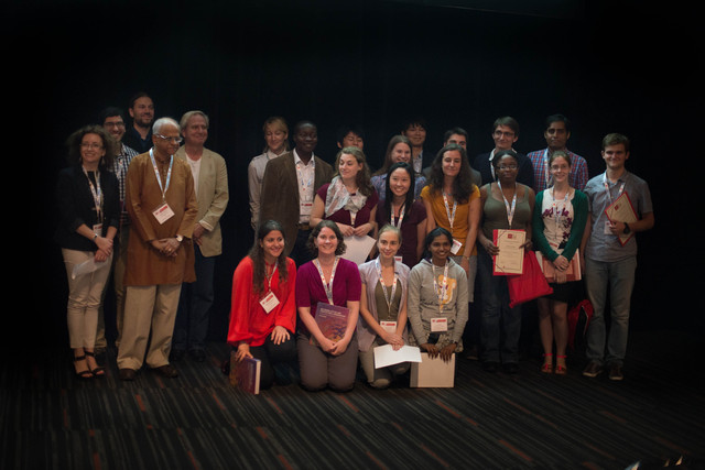 [Poster Prize Awardees at the 2014 Congress]