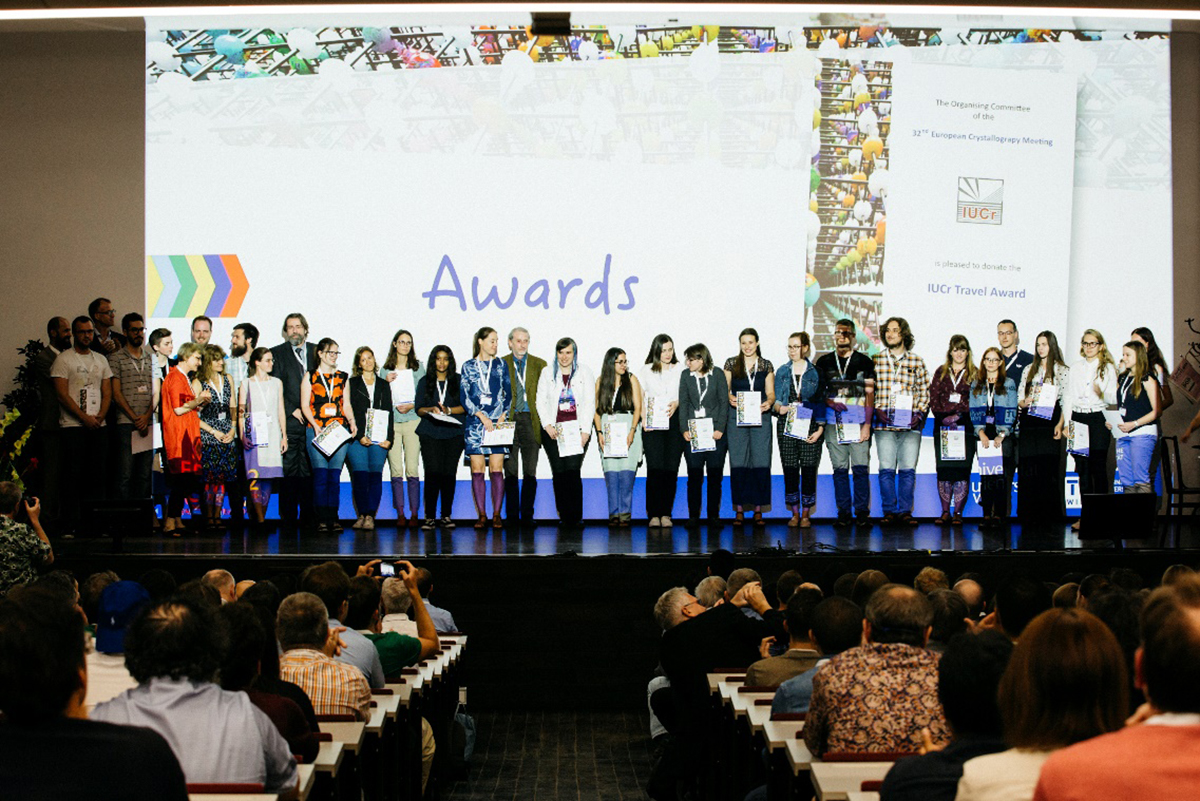[ECM32 IUCr Travel Awards]