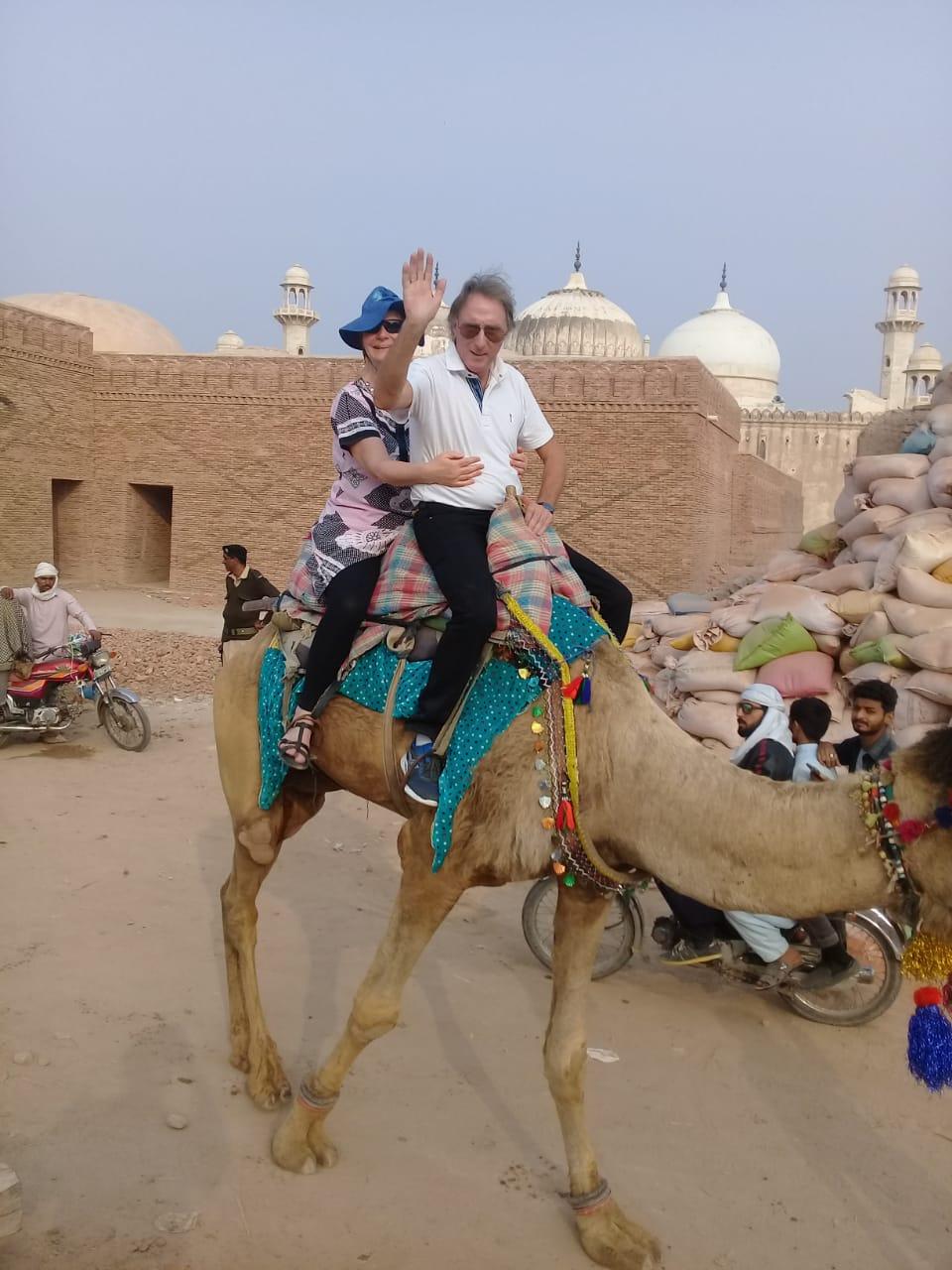 [Camel ride]