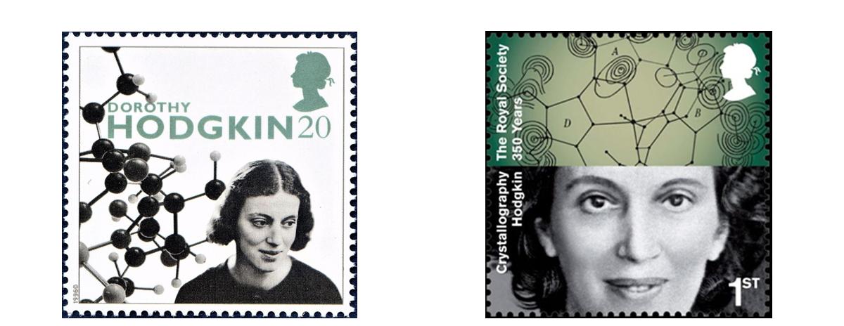 [Hodgkin stamps]