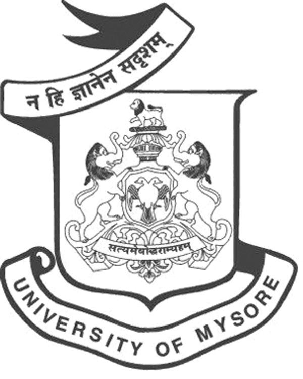 [University of Mysore logo]