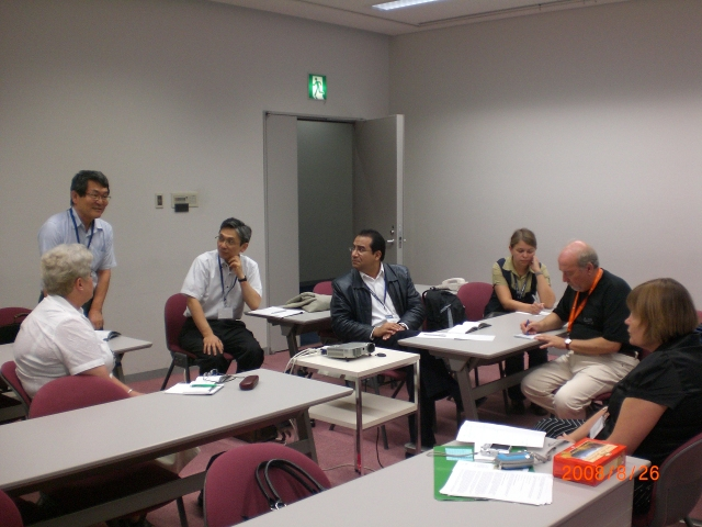 CCGCM members working in Osaka