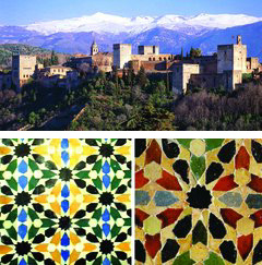 [Alhambra and mosaics]