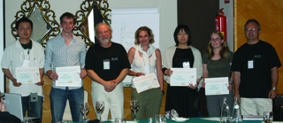[ISC poster prizes]