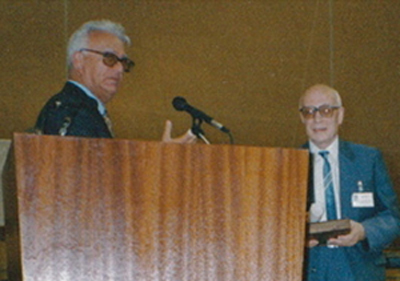 [Ewald Prize award]