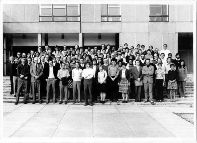 [1971: NATO Crystallography School: Group photo]