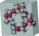 [CPK model of nonactin]