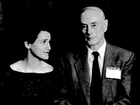 [Olga Kennard and PP Ewald]