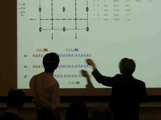 [2017: Training Course on Symmetry and Group Theory: Classroom session]