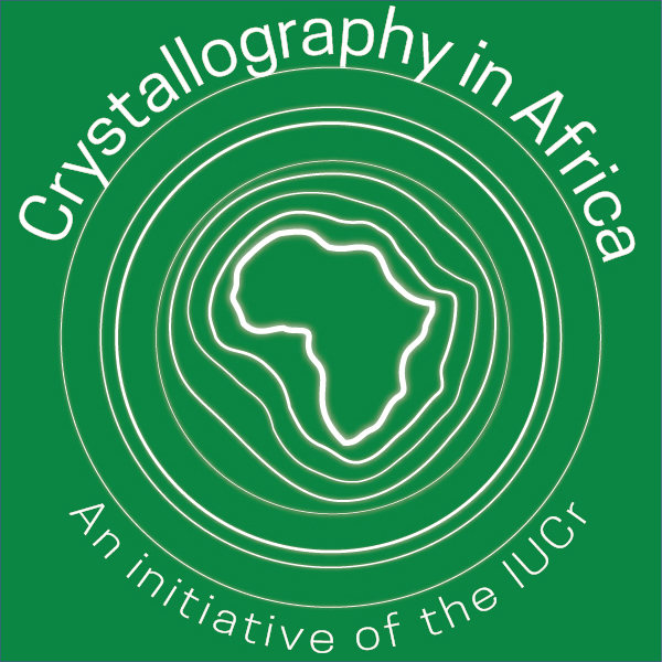 [Crystallography in Africa badge]