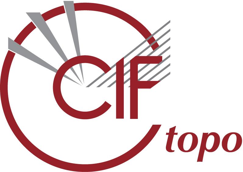 [topoCIF logo]