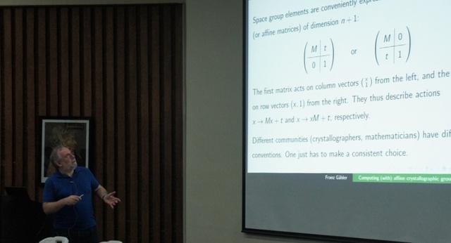 (IUCr) MaThCryst Workshop on Mathematical Crystallography