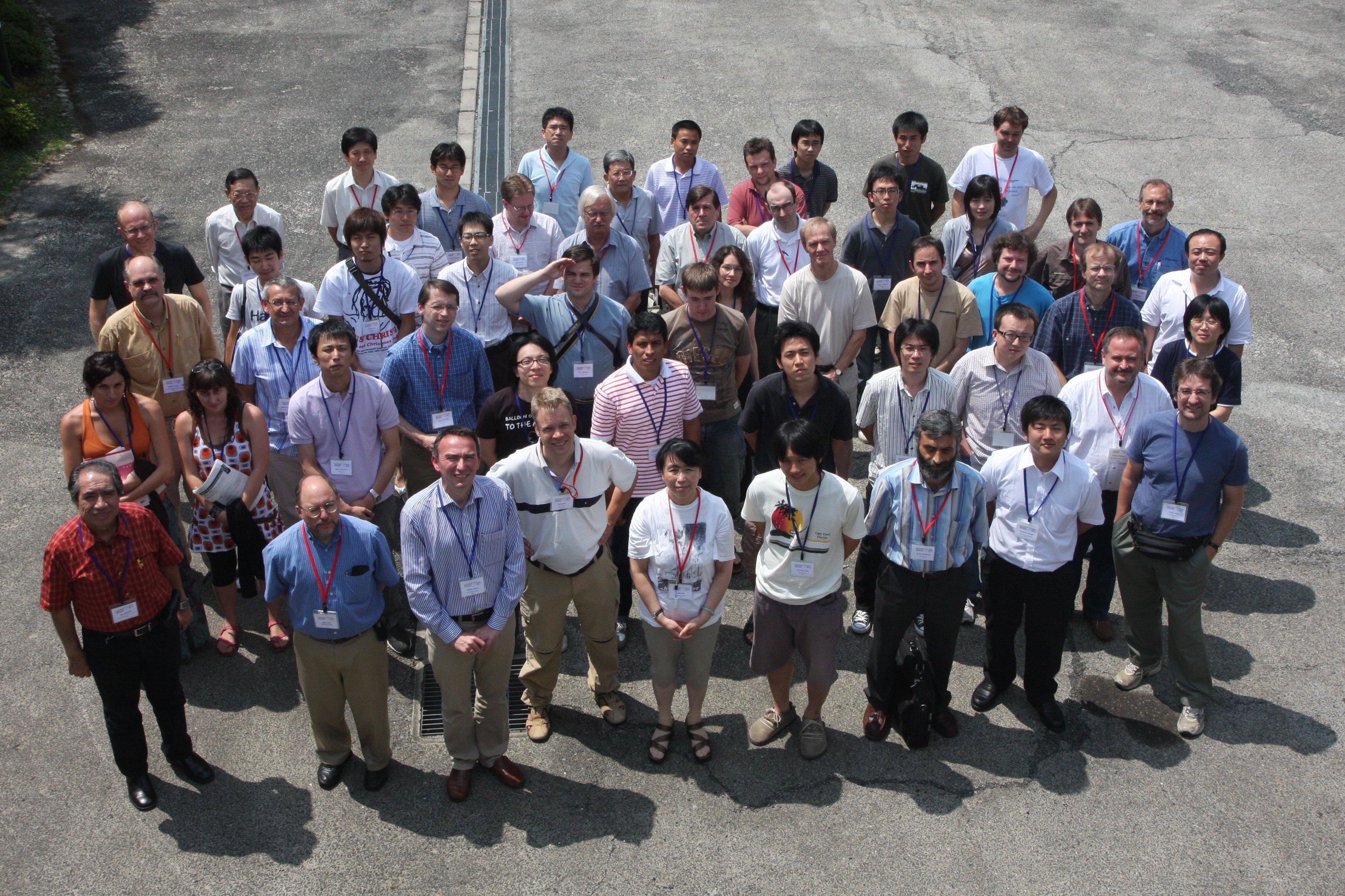 [Kyoto school group photo]