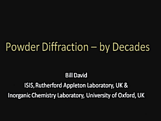 [Powder Diffraction - by Decades]
