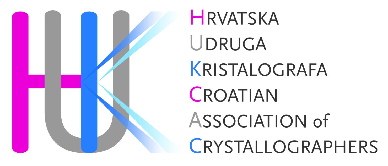 [Croatian Association of Crystallographers logo]