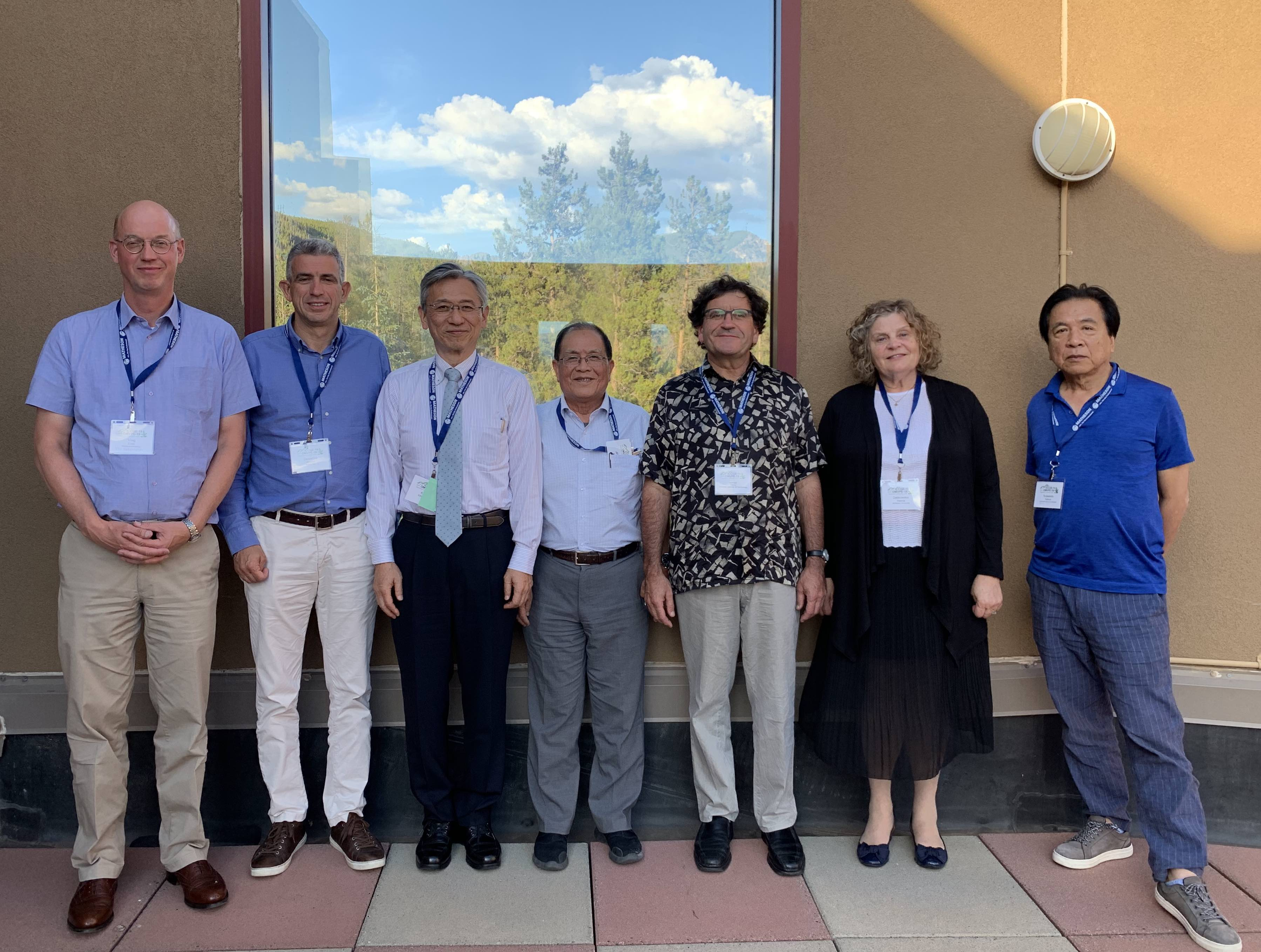 [Meeting of the CCGCM in Keystone, August  2019]