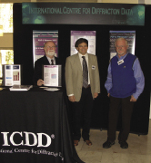 [ICDD booth]