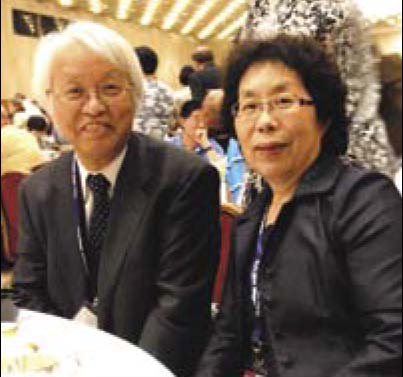 [Prof and Mrs Ohashi]