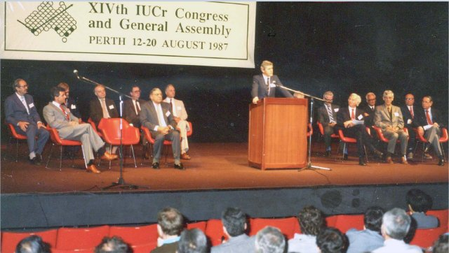 [Opening Ceremony of 1987 Congress]