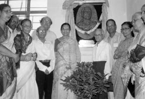 [unveiling of bronze relief]