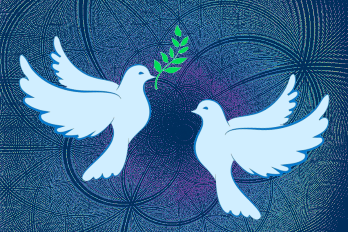 [two doves]