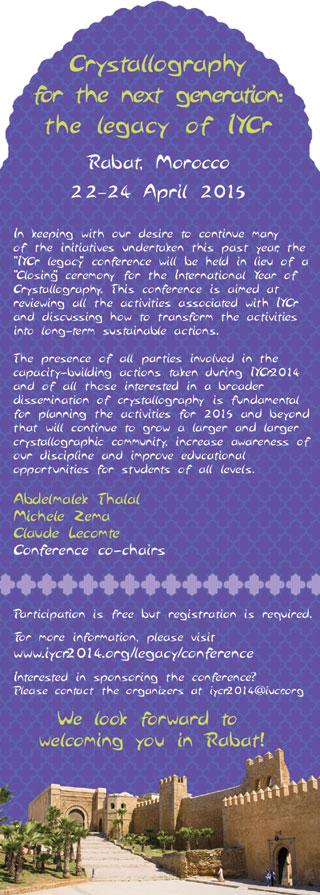 [Rabat conference]