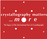 [crystallography matters more logo]