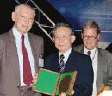 [Woolfson receiving 6th Ewald Prize]