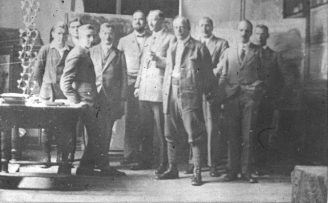 [1925: Informal Conference on X-ray Diffraction: Participants]