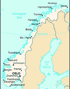 [Norway map]