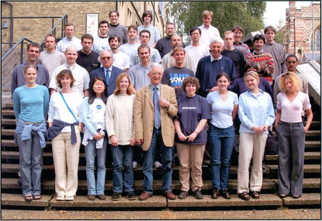 [2001: Oxford School on Neutron Scattering: Participants]