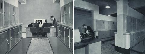 [Ferranti computer, 1950s.]