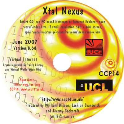 [neXus 2007 CD-ROM label]